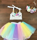 Kids Baby Girls Princess Ballet Tutut Skirt Dancewear Dress Costume US Seller