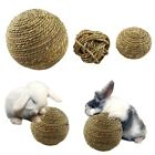 Kawaii Pet Chew Play Toy Natural Grass Ball for Rabbit Hamster Guinea Mice Cat 1
