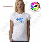 (SUPER GIRLS HEART) 2018 Hot White T-Shirt Present Ladies And Girls S-M-L-XL-XXL