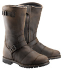 Belstaff Official Endurance Motorcycle  Leather Boots Black