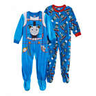 Thomas The Tank Engine Footed Sleeper Pajamas Size 4T NWT Price Is For One Piece