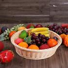 Reusable Fast Food Basket Flowers Snacks Hot Dog Sandwich Serving Tray Plate