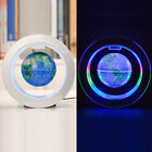 With LED Light World Map globe Rotating O Shape New Magnetic Levitation Floating