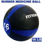 Heavy Duty Weighted Medicine Ball Fitness Muscle Body Workout 8 10 12 14 16 LB