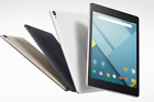 "HTC Google Nexus 9 32GB Android Tablet 8.9 Inch"" WiFi Connection - Black / White"