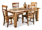Contemporary Wooden Dining Table with 4 Chair Set (DSET560)