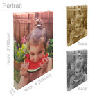 Personalised Framed Photo Canvas Print - Custom Large Box Printing READY TO HANG <br/> Rectangle, Square, Panorama, Custom size