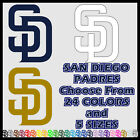 "6"" 10"" 12"" 18"" 23"" San Diego Padres SD Baseball Car Window Wall Decal Sticker"