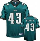 Leonard Weaver Jersey: Reebok Green #43 Philadelphia Eagles BIG SALES OVERSTOCK