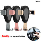 Gravity Car Holder Air Vent Outlet Stand Mount Universal For 4-6 Inch Phone GPS