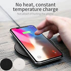 QI Wireless Charger Portable Fast Charging Holder For Samsung S8 Plus S7 S6 Edge