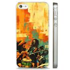 Amazing Reggae Music Rasta Jamaican CLEAR PHONE CASE COVER fits iPHONE 5 6 7 8 X