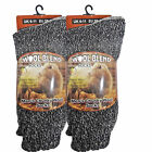 Mens Wool Socks Warm Winter Thick Boot Work Chunky Footwear 6,12 Pairs UK Size