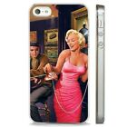 Marilyn Monroe Elvis Presley CLEAR PHONE CASE COVER fits iPHONE 5 6 7 8 X