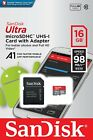 16GB 128GB micro SD SDXC Flash Memory Card Class 10 With Adapter Retail Package