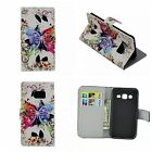 s4 mini model no - Flip COVER magnetic in leather slot card Case for models SAMSUNG GALAXY