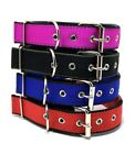 NEW LARGE NYLON DOG COLLAR WITH PADDED CUSHION COMFORTABLE H
