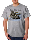 USA Made Bayside T-shirt Sports Hockey Skates Lord Of The Rinks Rink