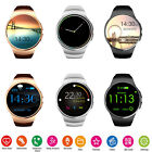 KW18 Wrist Band Smart Watch Heart Rate Round BT 4.0 Clock for Apple IOS /Android