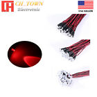 1.8mm 2mm 3mm 5mm 8mm 10mm White Red Blue RGB LED Assorted Light Emitting DIodes