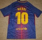 Messi Barcelona 2017/2018 Home Jersey Adult