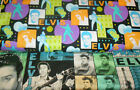 ELVIS  FABRICS Sold INDIVIDUALLY NOT AS A GROUP By the HALF YARD