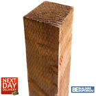 Timber Fence Posts 3x3 4x4 ALL SIZES 6ft, 7ft, 8ft, 10ft LongPremium Quality