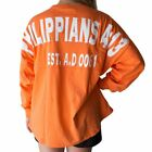 Shields of Strength Women's Coral Game Day Jersey-Phil. 4:13