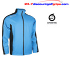 Sunderland Mens Quebec Waterproof 4-Way Stretch Lightweight Golf Jacket