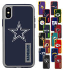 For Apple iPhone X - Official NFL Impact Armor Shockproof Dual Layer Cover Case $17.99 USD on eBay