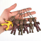 USASTOCK Guardians of the Galaxy Baby Groot KeyChain Keyring Figure Statue Toy