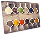 Spices Herbs Bowls Kitchen Picture SINGLE CANVAS WALL ART Print