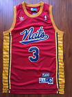NBA Philadelphia 76ers Allen Iverson Throwback Hardwood Sewn Stitched Red Jersey