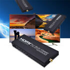 HD 1080P HDMI 4x1 Quad Multi-Viewer Seamless Switcher Video 4 Channel Splitter