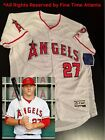 NEW Mike Trout Los Angeles Angels Home White Mens FlexBase Jersey Ohtani