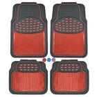 2006 dodge charger floor mats - Metallic Car Floor Mats for All Weather Rubber Heavy Duty Protection for Auto