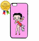 Phone Case Betty Boop iPhone 4 5 6 7 Galaxy S6 S5 edge Note  cover Plus + $14.9 USD