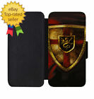 King Arthur Shield Leather Wallet Phone Case iPhone 5 6 7 8 X +