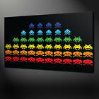 SPACE INVADERS CANVAS PRINT PICTURE WALL ART FREE UK DELIVERY VARIETY OF SIZES