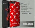 NEW RARE!!! Case Cover For iPhone 7+ 7 6s Louis-Vuitton7890 Supreme87VX