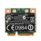 For Intel AMD 802.11A/B/G/N WiFi Bluetooth 4.0 Half Mini PCI-E Wireless Card Lot