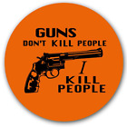 Guns Don't Kill People I Kill People Pin-Back Button Happy Gilmore Movie Sandler