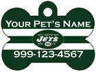 New York Jets Custom Pet Id Dog Tag Personalized w/ Name & Number $11.67 USD on eBay