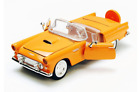 1:24 1956 Ford Thunderbird Convertible (Red / Yellow) American Classic Motor Max