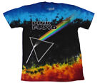 PINK FLOYD Dark Side Of The Moon official Tie Dye T shirt MEN MEDIUM / LARGE