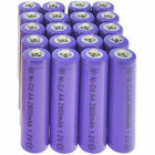1.2V NiCd AA 2800mAh Purple Rechargeable Durable Batteries For Solar Light Lamp