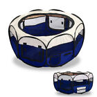 3 Colour Puppy Pet Play Pen Dog Cat Rabbit Guinea Pig Run Fence Folding Cage <br/> ◆Fast &amp; Free Postage◆Pet Fence◆UK Seller◆Top Quality◆
