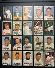 1951 BOWMAN BASEBALL CARD LOT EX-EX+ CONDITION FINISH YOUR SET (BUY ONE OR ALL)
