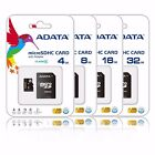 8gb micro sd card with adapter - ADATA  16GB 8GB 4GB Micro SD HC Class 4 Memory Card with adapter