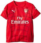 Arsenal Football Shirt Puma Stadium Pre Match Replica T-Shirt Childrens